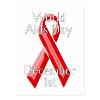 World Aids Day Postcard