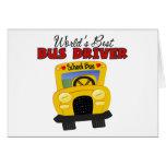 World' el mejor conductor del autobús de s felicitación