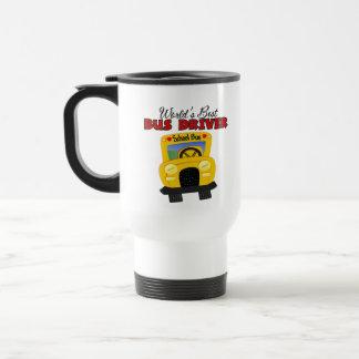 World apos el mejor conductor del autobús de s tazas de café