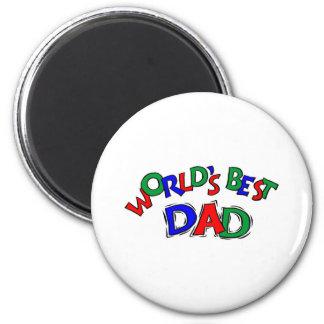 World's Best Dad Fridge Magnets