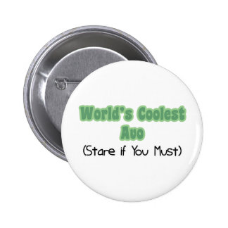 World's Coolest Avo Pinback Button