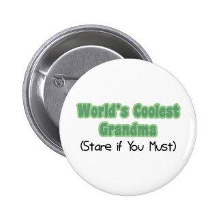 World's Coolest Grandma 2 Inch Round Button