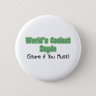 World's Coolest Zayde Button