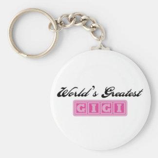 World's Greatest GiGi Keychain