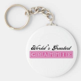 World's Greatest Grammie Basic Round Button Keychain