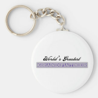 World's Greatest Grandfather Keychains