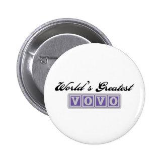 World's Greatest Vovo Pin
