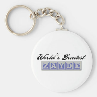 World's Greatest Zayde Keychain
