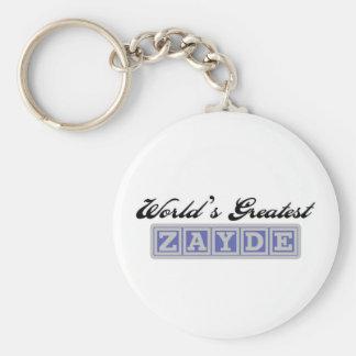 World's Greatest Zayde Keychain