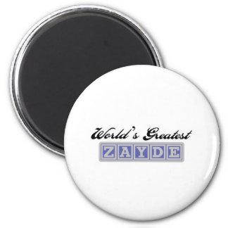 World's Greatest Zayde Magnet
