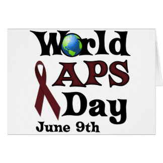 WORLD APS DAY CARDS