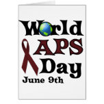 WORLD APS DAY GREETING CARD