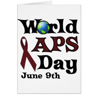 WORLD APS DAY GREETING CARDS