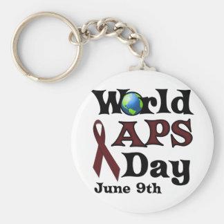 WORLD APS DAY KEYCHAIN