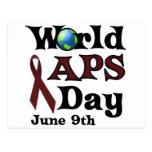 WORLD APS DAY POSTCARD