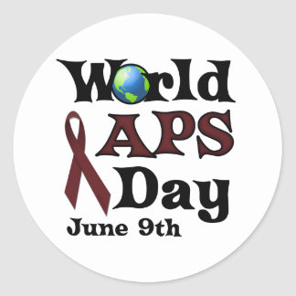 WORLD APS DAY STICKERS
