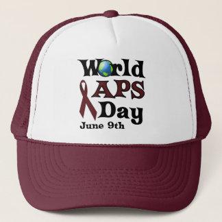 WORLD APS DAY TRUCKER HAT