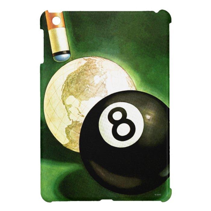 World as Cue Ball iPad Mini Covers