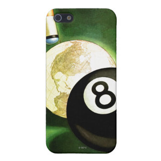 World as Cue Ball iPhone SE/5/5s Cover