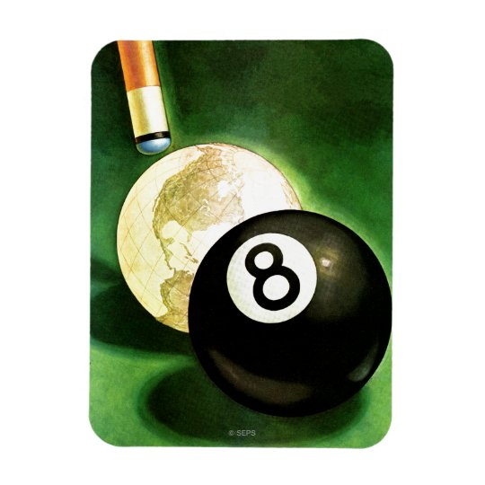 World as Cue Ball Magnet