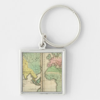 World as Known to the Ancients Division Keychain
