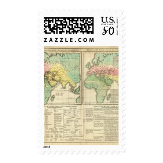 World as Known to the Ancients Division Postage