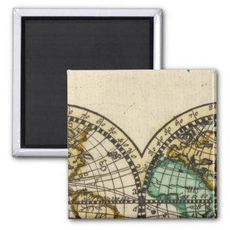 World Atlas Magnet