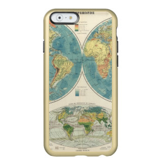 World Atlas Map 2 Incipio Feather® Shine iPhone 6 Case