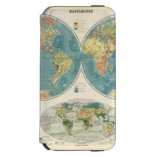 World Atlas Map 2 Incipio Watson™ iPhone 6 Wallet Case