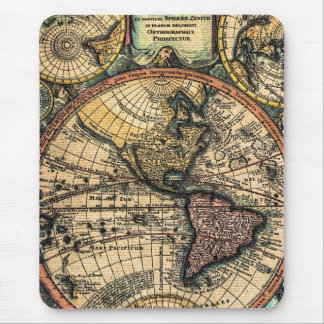 World Atlas Mouse Pad