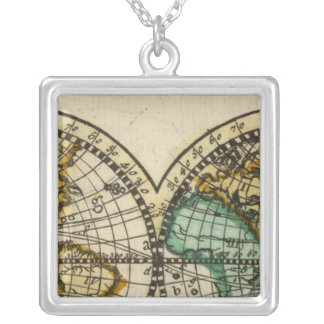 World Atlas Personalized Necklace