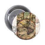 World Atlas Pinback Button