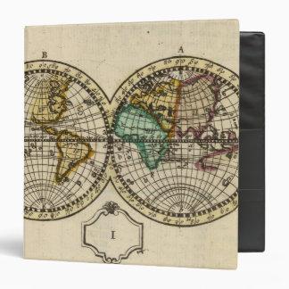 World Atlas Vinyl Binder