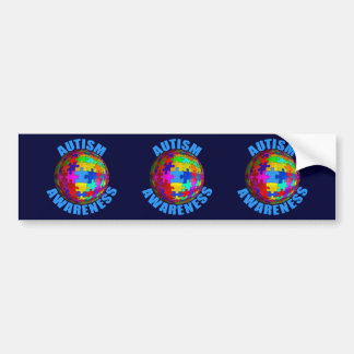 World Autism Awareness Bumper Sticker