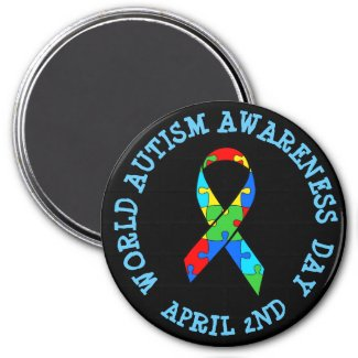 World Autism Awareness Day April 2nd Magnet