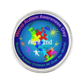 World Autism Awareness Day Pin
