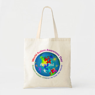 World Autism Awareness Day Tote Bag