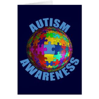 World Autism Awareness Greeting Card