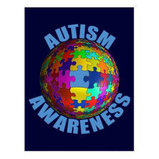 World Autism Awareness Postcard