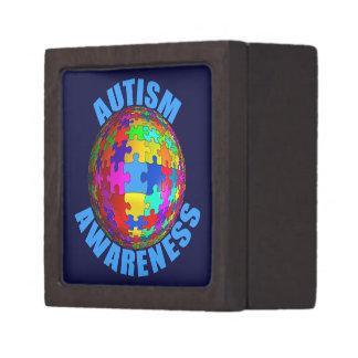 World Autism Awareness Premium Keepsake Boxes