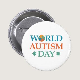 World Autism Day Pinback Button