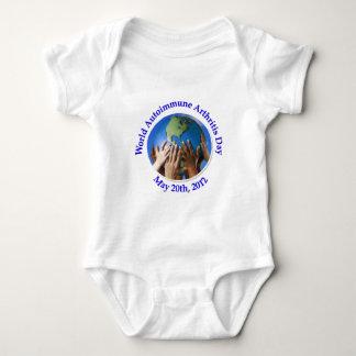 World Autoimmune Arthritis Day (WAAD) Logo Baby Bodysuit