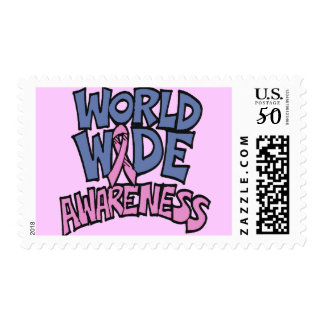 World Awareness Breast Cancer Postage