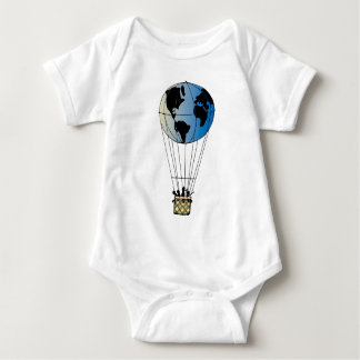 World Balloon Baby Bodysuit