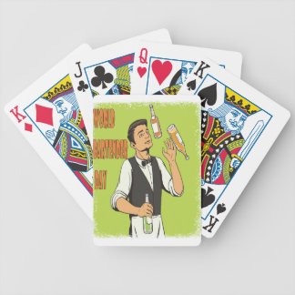 World Bartender Day - Appreciation Day Bicycle Playing Cards