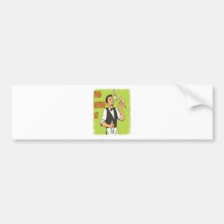 World Bartender Day - Appreciation Day Bumper Sticker