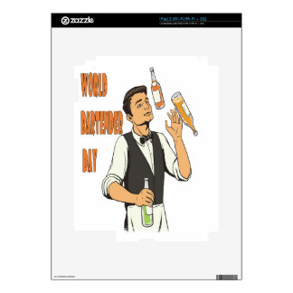 World Bartender Day - Appreciation Day iPad 2 Skins