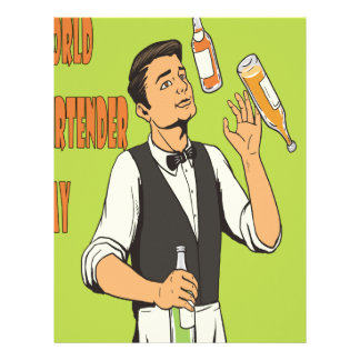 World Bartender Day - Appreciation Day Letterhead