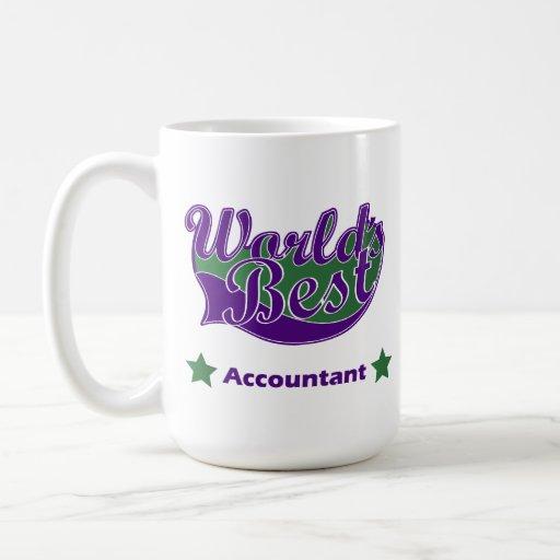 World Best Accountant Classic White Coffee Mug