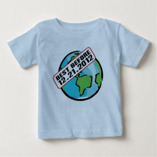 World Best Before 12.21.2012 Baby T-Shirt